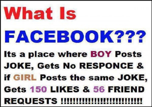 Funny Facebook Jokes On Facebook Status Like
