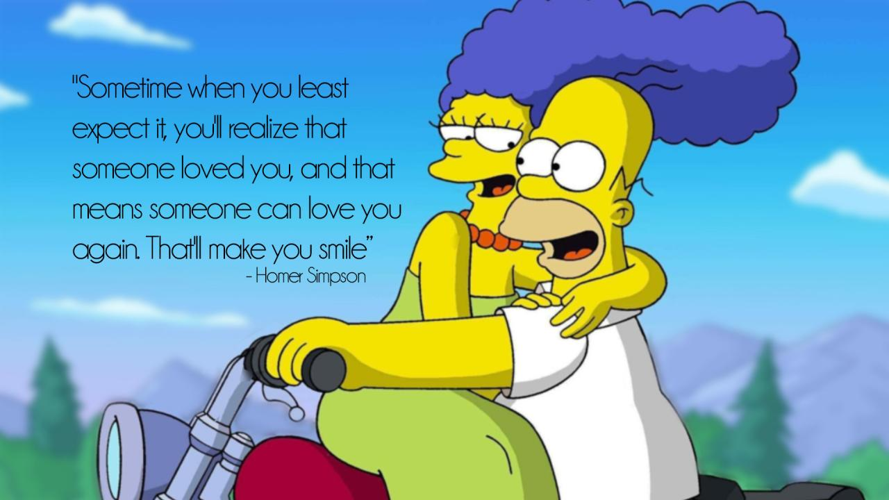 Oc Sometime When You Least Expect It Youll Realize Someone Loved You Homer Simpson