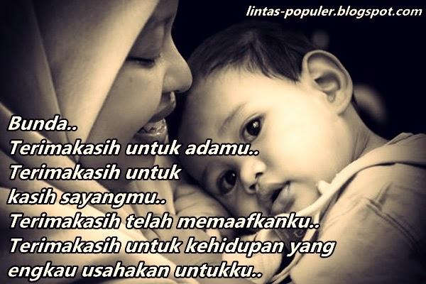 Gambar Kata Kata Kasih Sayang Ibu Untuk Anak