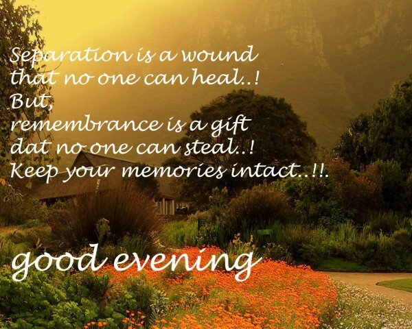 Great Evening Inspirational Quotes About Life