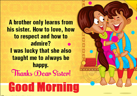Good Morning Sister Images And Quotes