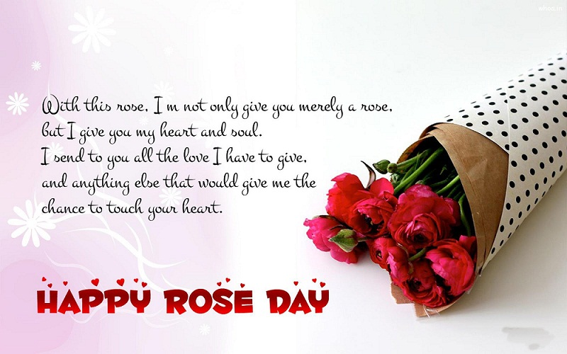 Happy Rose Day Quote Sms