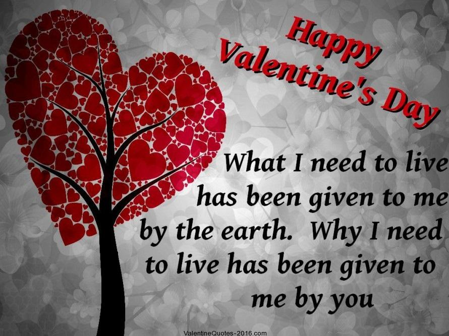 Youve Completed My Life Happy Valentines Day My Love
