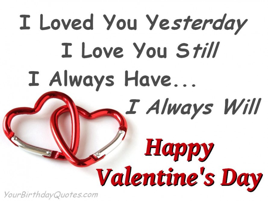 Happy Valentines Day Quotes Love Wishes Always Cute