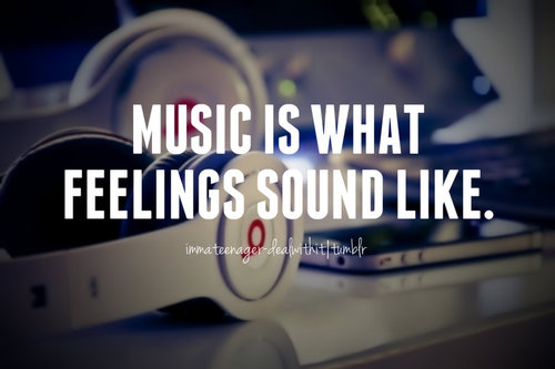 I Love Music Quotes Tumblr