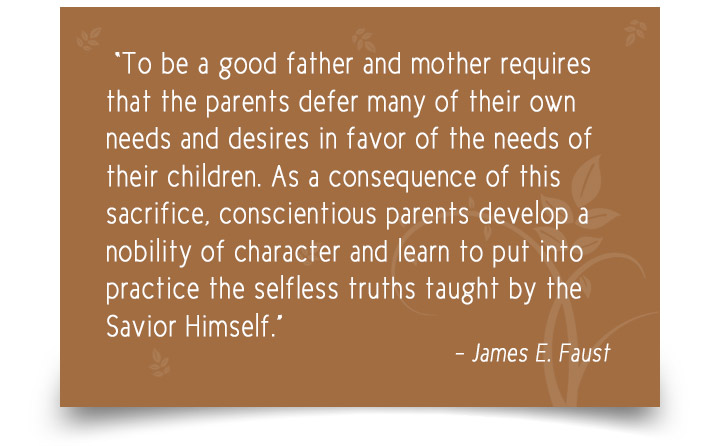 Parenting Advice Quotes By James E Faust