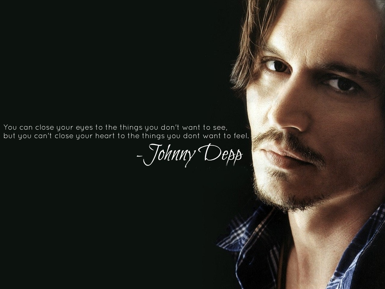 Johnny Depp Love Quotes Wallpaper