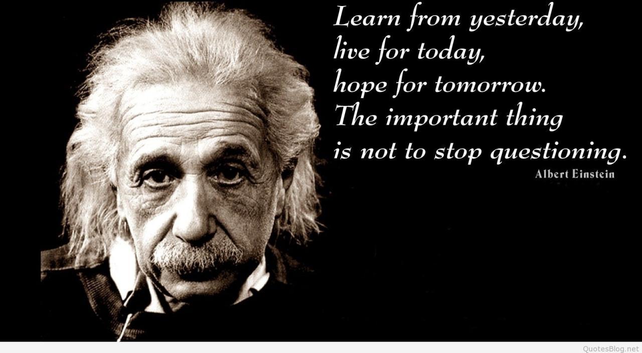 Albert Einstein Zitate Englisch