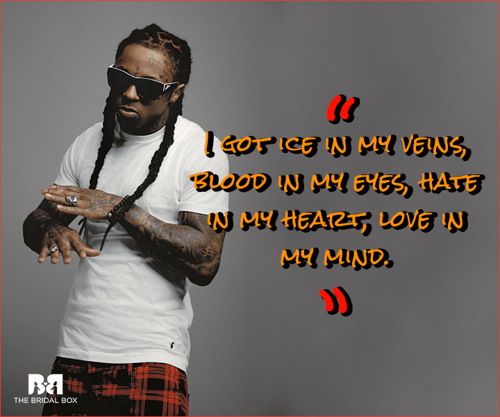 Lil Wayne Love Quotes Fire And Ice