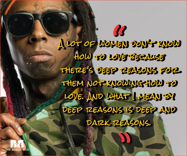 Lil Wayne Love Quotes Deep Reasons