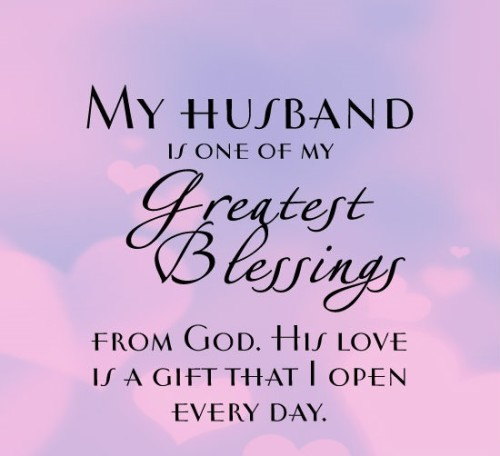 Love Quotes For Husband From Wife In English