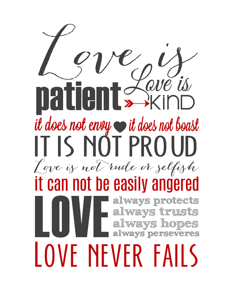 Love Quotes From 1 Corinthians Hover Me