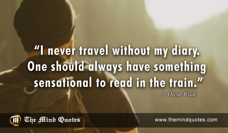 Oscar Wilde Quotes On Funny And Travel
