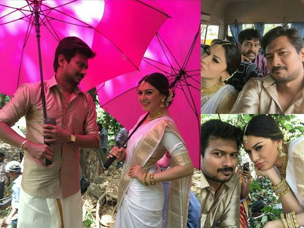 Manithan Movie Working Stills