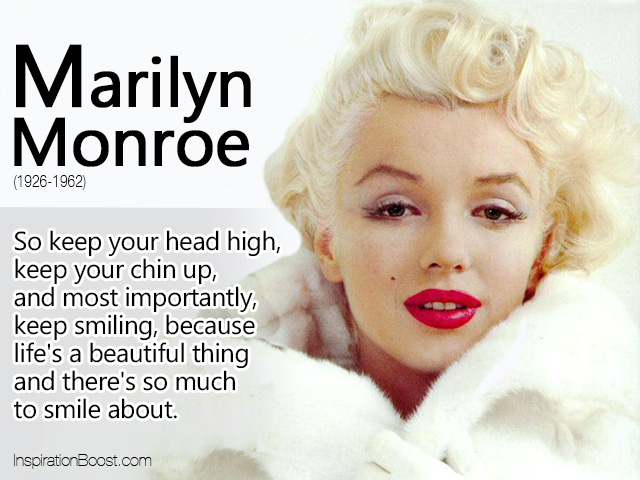Marilyn Monroe Life Quote