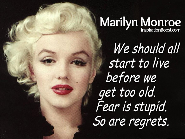 Marilyn Monroe Quotes About Life Quotesgram