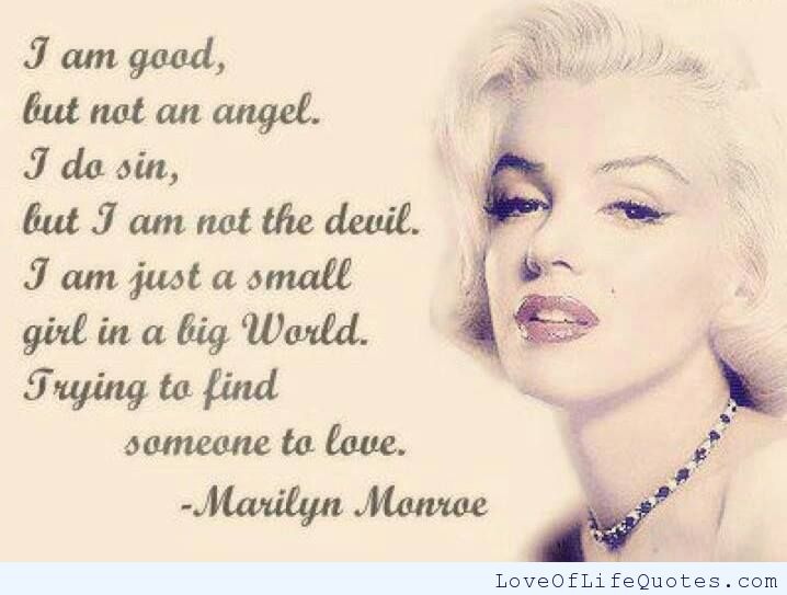 Marilyn Monroe Quotes Sayings Images