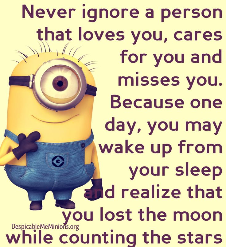 Minion Love Quotes Sayings Pictures