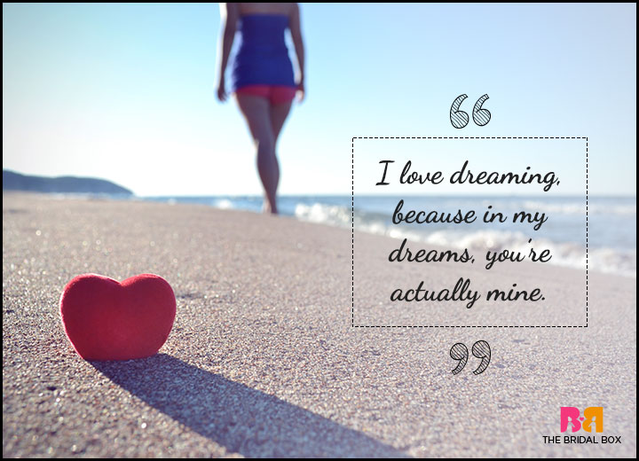 One Sided Love Quotes In Dreams