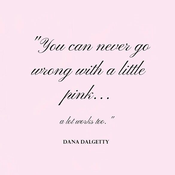 Pink Girly Quotes Sayings