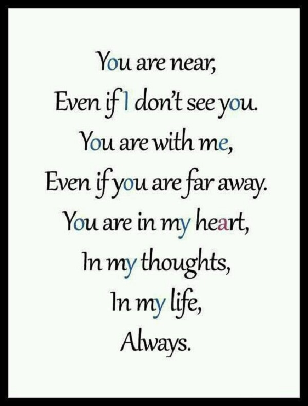 Inspirational Missing You Quotes That Will Cheer You Up