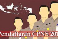 Rekrutmen Pendaftaran CPNS 2018