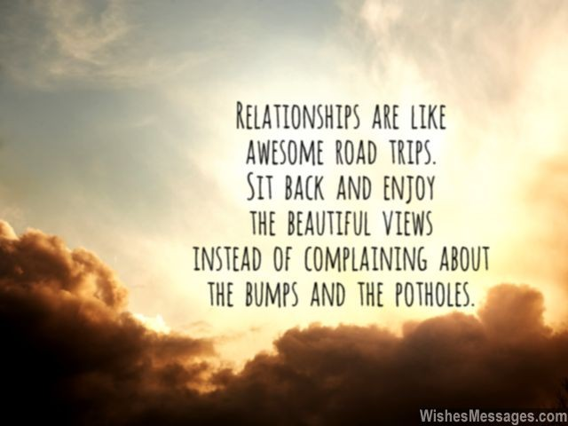 Relationship Quote For Him And Her Enjoy Togetherness