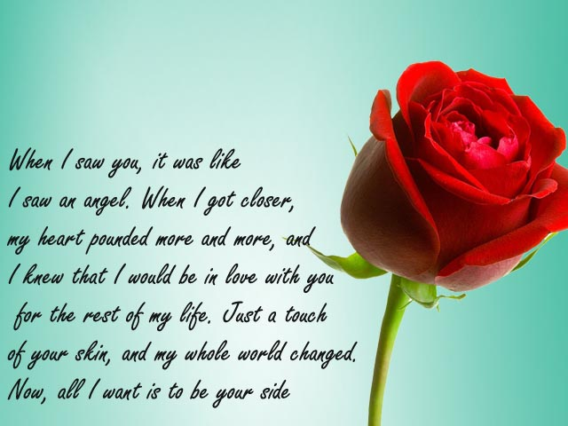 Love Quotes For Rose Day Hover Me