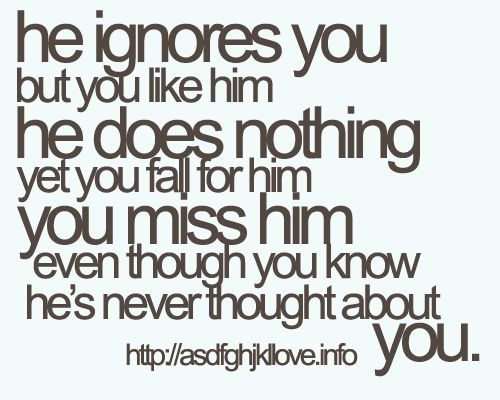 Secret Crush Love Quote For Him