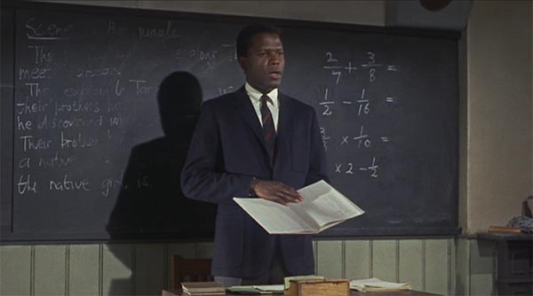 Sidney Poitier To Sir With Love