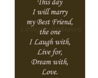 Wedding Day Quotes For A Friend