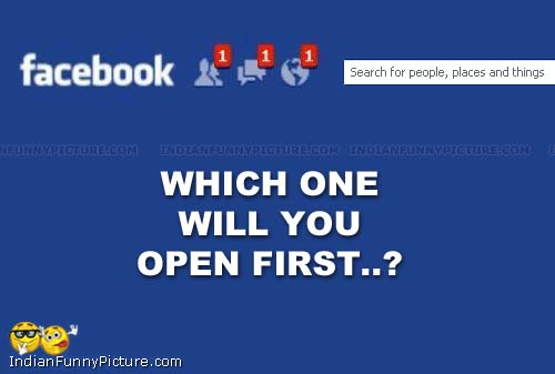 Which One Will You Open First Funny Question