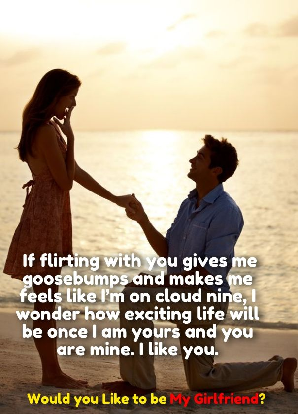 How To Propose A Girl To Be Girlfriend Quotes