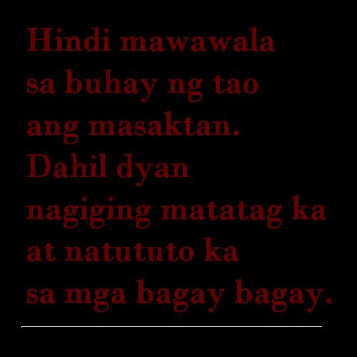 Tagalog Sad Love Quotes