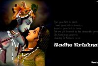 Radhe Krishna Quotes Wallpaper And Images Download