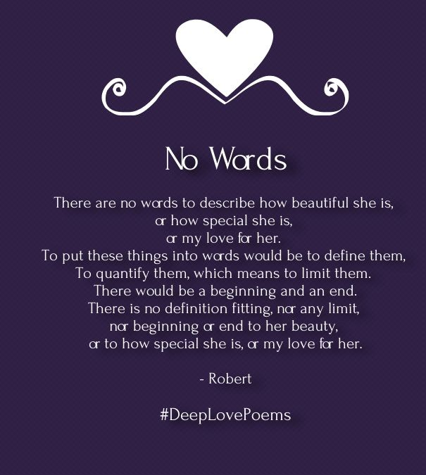 Deep Love Poems For Her With Images English Love Poems