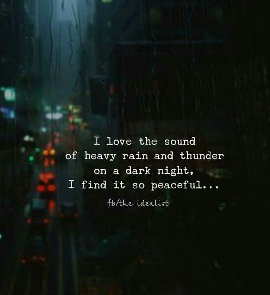 Love Rainy Night Quotes Hover Me