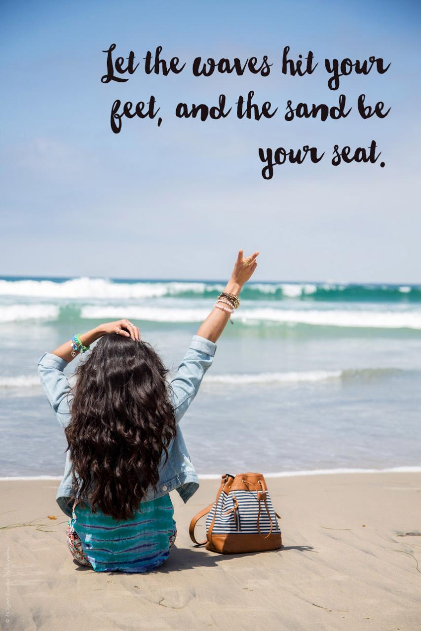 Waves And And Beach Quotes Visit Stylishlyme Com To Read More Beach Quotes