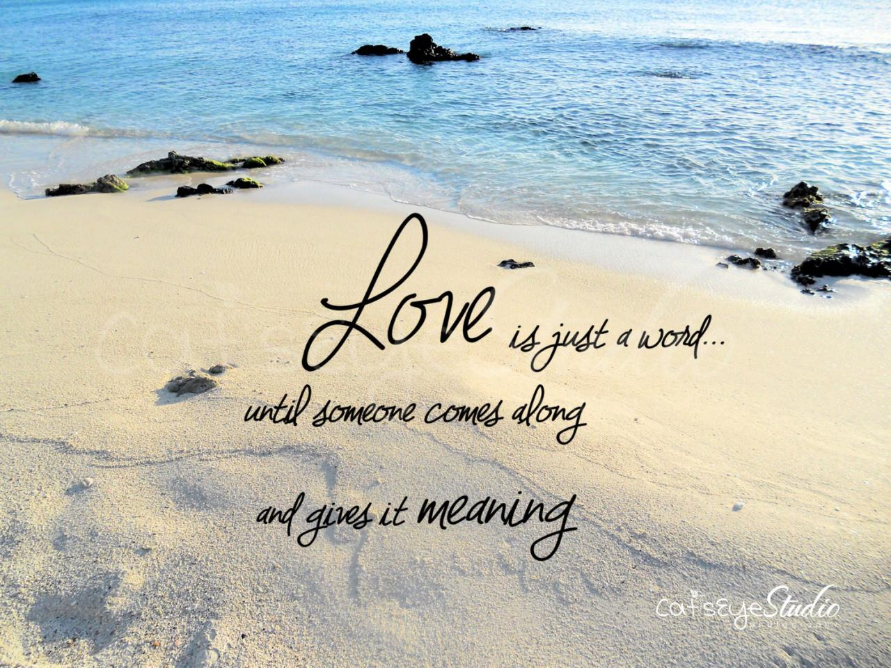 Beach Wedding Quotes Unique Love Quotes For The Beach Beach Wedding Love Quotes Quotesgram
