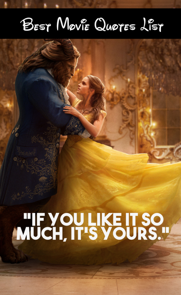 Love Quote From Beauty And The Beast 2017 Hover Me