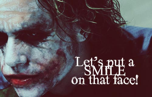 Best Joker Quotes Lets Put A Smile On