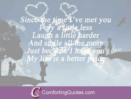 Best Love Quotes For Him Since The Time Ive Met You I Cry A