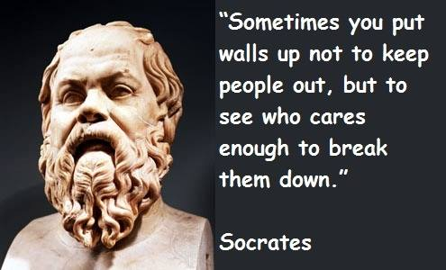 Sometimes You Put Walls Up