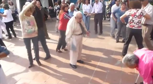 Funny Old People Dancing To Hip Hop Music Video Edit