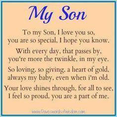 Love You Son Quotes Mom Hover Me
