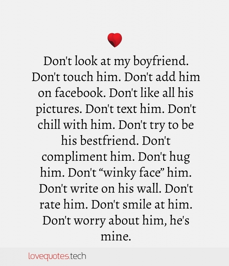 Boyfriend Cute Quotes Sweet Quote For My Love And Sayings Him