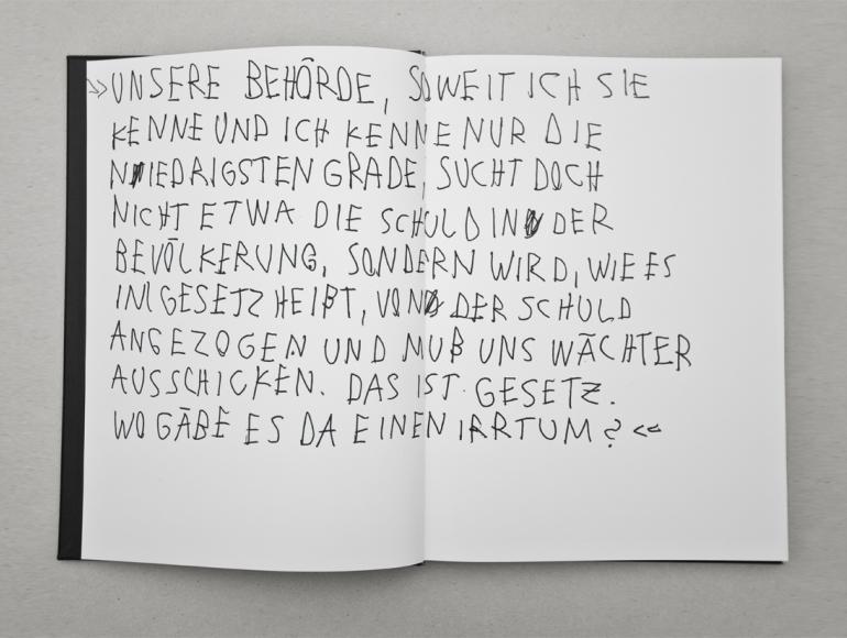 Auseinandersetzung Mit Franz Kafkas Roman Der Prozess