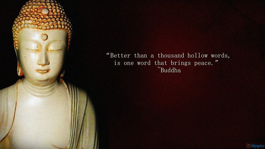 Buddhist Quote About Love And Life Inspiring