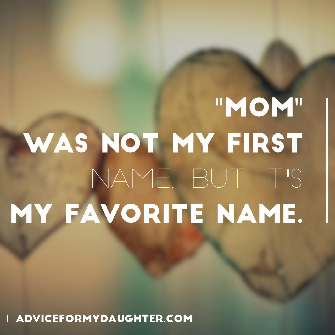 I Love The Name Mom More