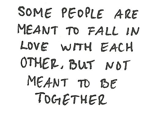 Some People Are Meant To Fall In Love